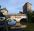 Nürnberg Henkerturm - Brücke - Wasserturm 01.jpg