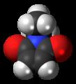 N-Ethylmaleimide molecule spacefill.png