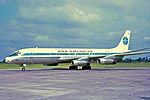 N809PA Douglas DC-8-32 Pan American World Airways MAN 21JUL68.jpg