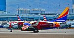 N918WN Southwest Airlines 2008 Boeing 737-7H4 (cn 29843-2572) Illinois One (34170805203).jpg