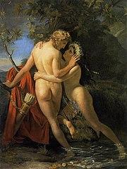 La Nymphe Salmacis et Hermaphrodite