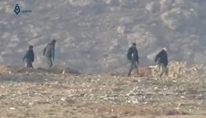 NDF fighters (Wadi Barada 2017)