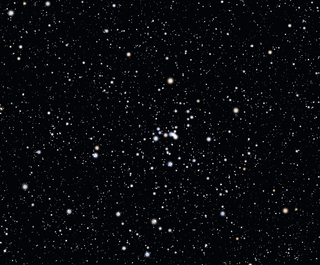 NGC 2281 open cluster in the constellation Auriga