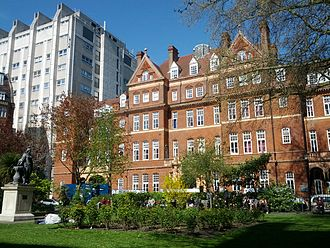 UCL Institute of Neurology - UCL Institute of Neurology (left) and the National Hospital for Neurology and Neurosurgery (right) in Queen Square, London