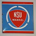 NSU Wankel, enamel advert.JPG