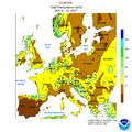 NWS-NOAA Europe Total precipitation JAN 8 - 14, 2017.png