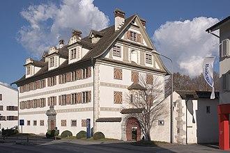 Canton of Glarus - Cantonal museum in the Freulerpalast (Näfels)