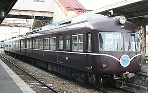 Nagano Electric Railway 2000 series - Image: Nagaden 2000 20110109
