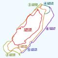 Nagasaki Hashima history map.png