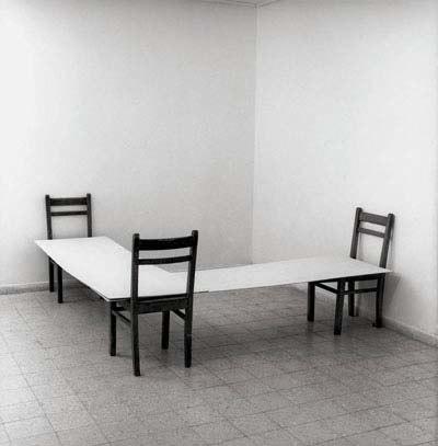 Nahum Tevet,Corner, 1974, Collection Tel Aviv Museum of Art