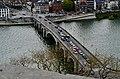 Namur Blick von der Zitadelle auf die Pont des Jambes 8.jpg
