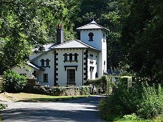 Richard Kyrke Penson - Image: Nanteos Lodge guarding the entrance to the estate. geograph.org.uk 207932