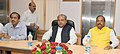 Narendra Singh Tomar in a meeting with the Chief Minister of Jharkhand, Shri Raghubar Das to share the detailed exploration reports for Minerals in State of Jharkhand, in New Delhi on July 16, 2015.jpg
