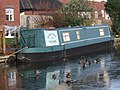 "Narrowboat ""Bobby Owler"" moored on the Staffordshire and Worcestershire Canal - geograph.org.uk - 1637817.jpg"