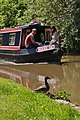 Narrowboat and ducklings - geograph.org.uk - 1323183.jpg