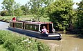Narrowboat on the Grand Union Canal at Nethercote - geograph.org.uk - 1328600.jpg