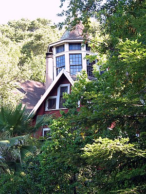 National Register of Historic Places listings in San Mateo County, California - Image: Nathanial Brittan Party House, 125 Dale Ave., San Carlos, CA 9 5 2011 4 17 28 PM