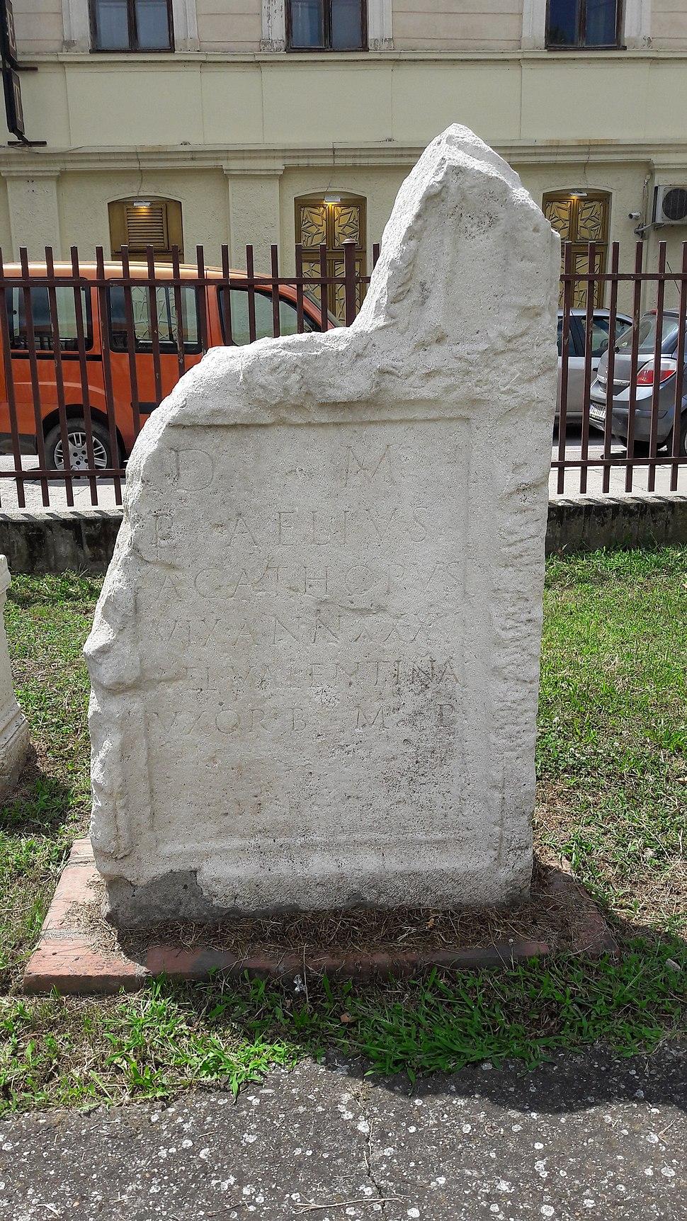 National museum in Požarevac, a stele