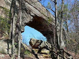 Natural Bridge State Resort Park - Image: Natural Bridge KY 27527 2