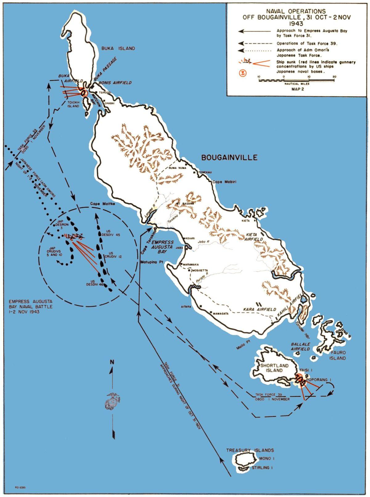 Savo Solomon Islands Map