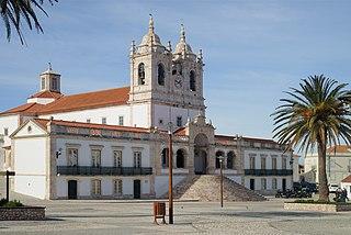 Sanctuary of Our Lady of Nazaré Church in Nazaré, Portugal