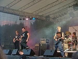 Neaera beim RockTheLake 2007 (Quelle: de.wikipedia.org)