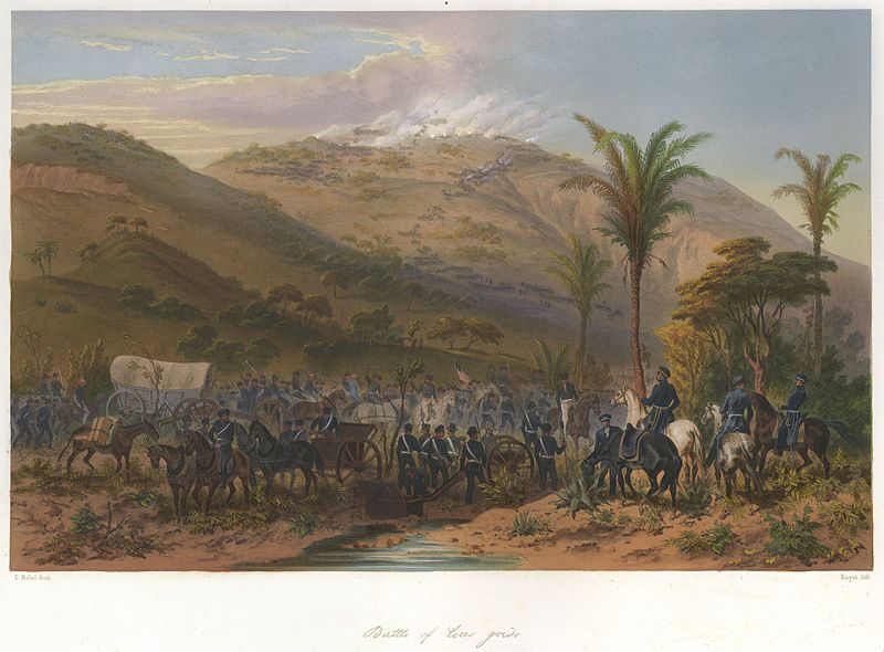 File:Nebel Mexican War 05 Battle of Cerro Gordo.jpg