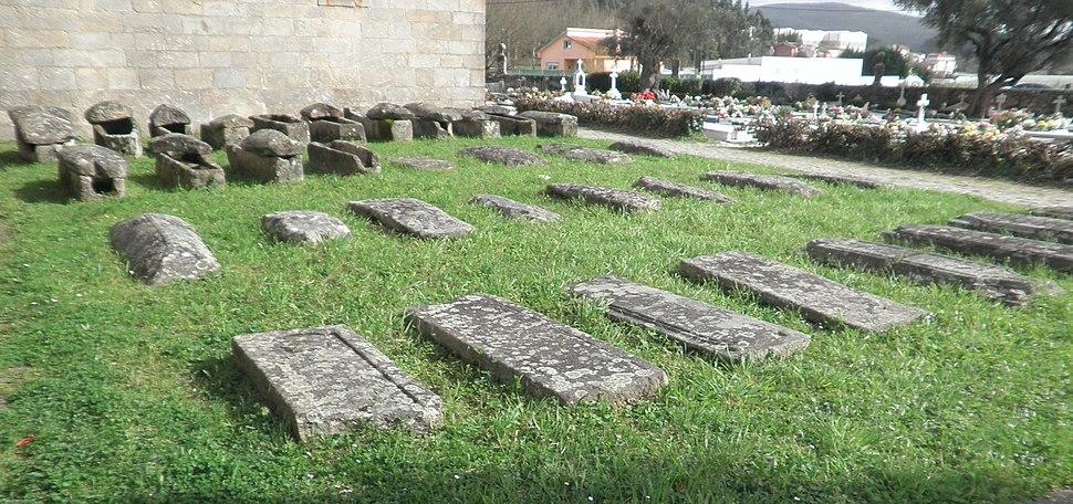 Necrópole de época romana e sueva en Adina.