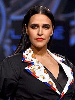 Neha Dhupia, Lakme Fashion Week Summer-Resort 2020 (5) (cropped).jpg