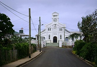 Vavaʻu - Image: Neiafu church