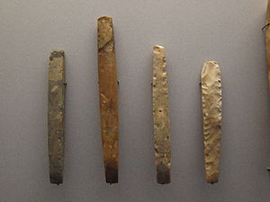 Chisel - Neolithic stone chisels from Schleswig-Holstein, Germany around 4100 to 2700 BCE