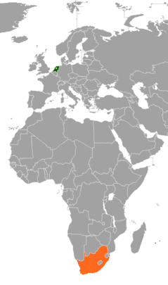 Netherlands–South Africa relations Diplomatic relations between the Kingdom of the Netherlands and the Republic of South Africa