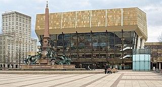 Gewandhaus concert hall in Leipzig, Germany