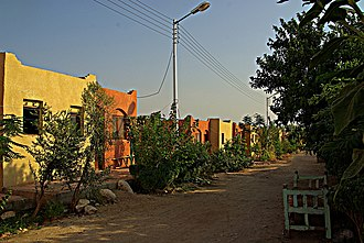 Kurna - Street in New Gourna