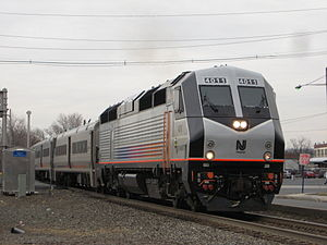Train #1651 leaves Hackensack-Essex Street, bo...