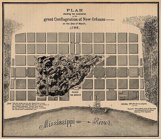 NOLA History 8 Fascinating Old New Orleans Maps GoNOLAcom