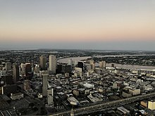 New Orleans from the Air September 2019 - Central Business District Skyline.jpg