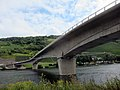 New built bridge over the Mosel river at Wolf. At 25 August 2015 not yet opened - panoramio.jpg
