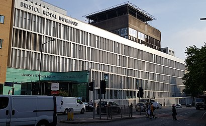How To Get To Bristol Royal Infirmary In Bristol City Of By