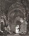 Newcastle Castle, Interior, 1814.jpg