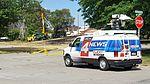 News crew at fire scene, Melvindale, Michigan.jpg