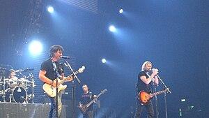 Post-grunge - Post-grunge band Nickelback in 2008