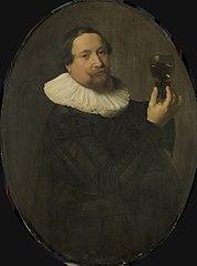 Portret van Maerten Rey (1595/96-1632)