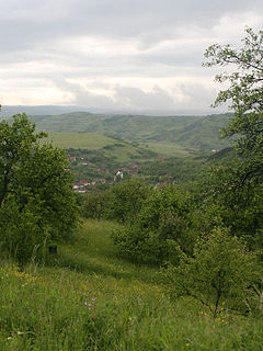 View of Nicula from Nicula Monastery