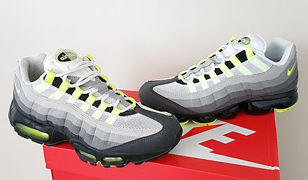 Air Max 95 (1995) next to the Vapormax 95 Hybrid (2018) in f95c86f7a