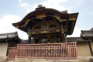Fushimi Castle - Karamon gate was moved to Nishi Hongan-ji
