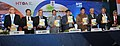 """Nitin Gadkari releasing the book titled """"Heavy Haulers"""", at the launch of a web portal for online approval of movement of OD and OWC by the Modular Hydraulics.jpg"""