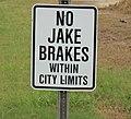 No Jake brakes within city limits.jpg