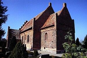 Olstrup Church - Olstrup Church, Lolland