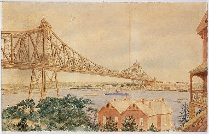File:Norman Selfe proposal for Sydney Harbour Bridge.jpg